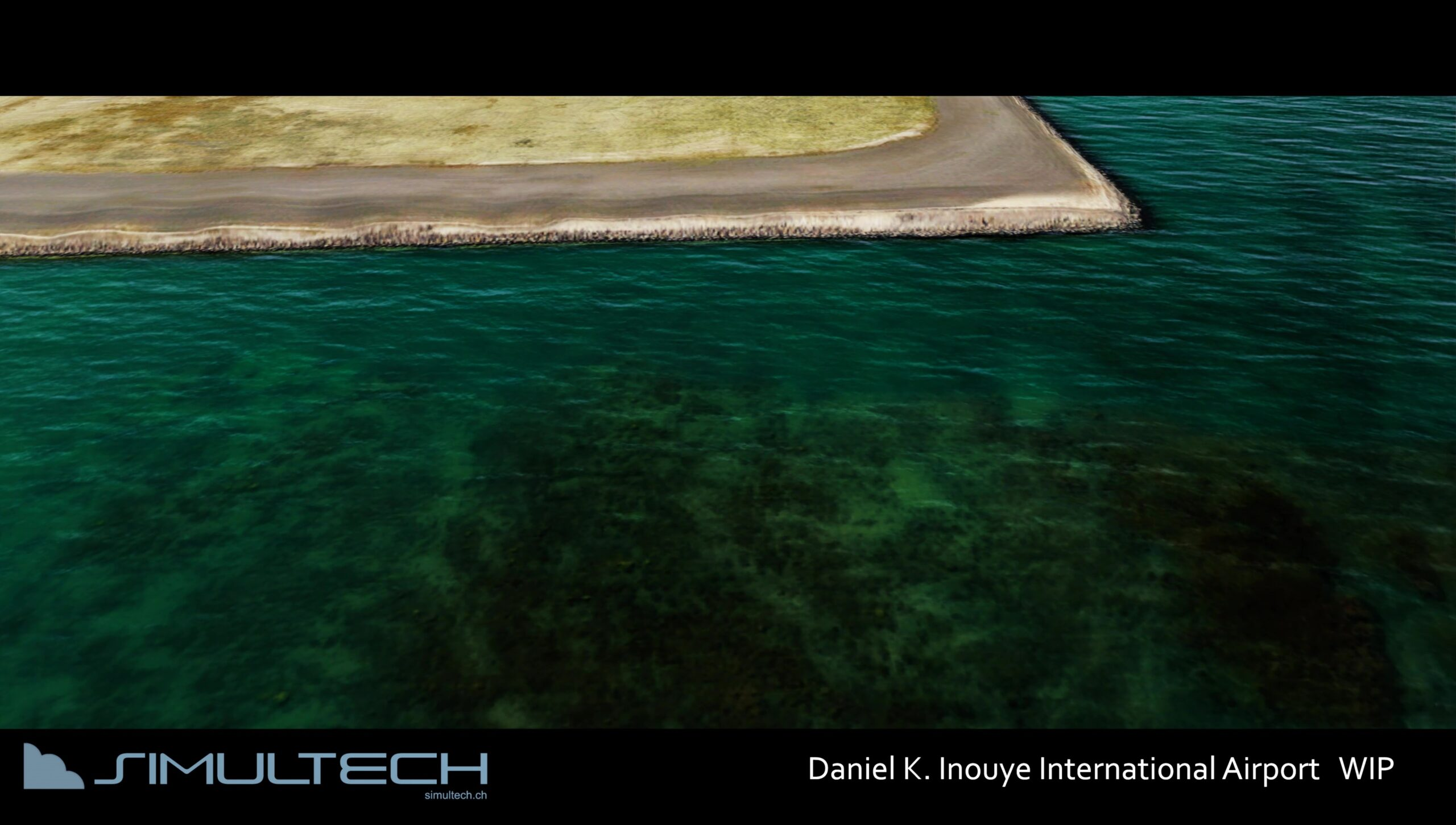 Bathymetry and interaction with the photographic background