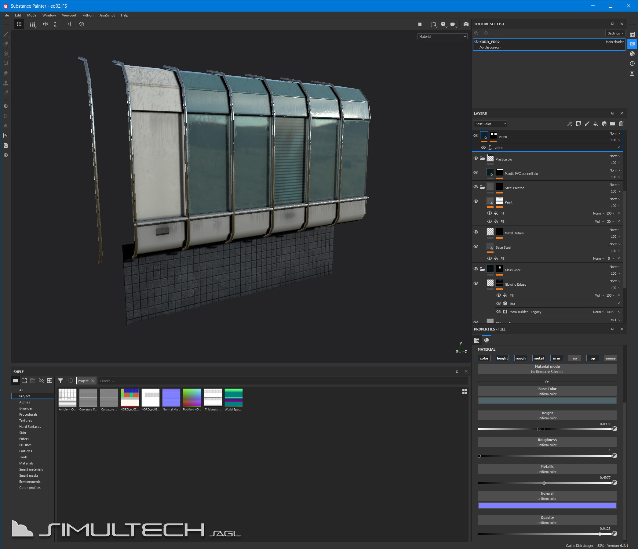 Workflows on textures and modeling, what changes with the new Flight Simulator.