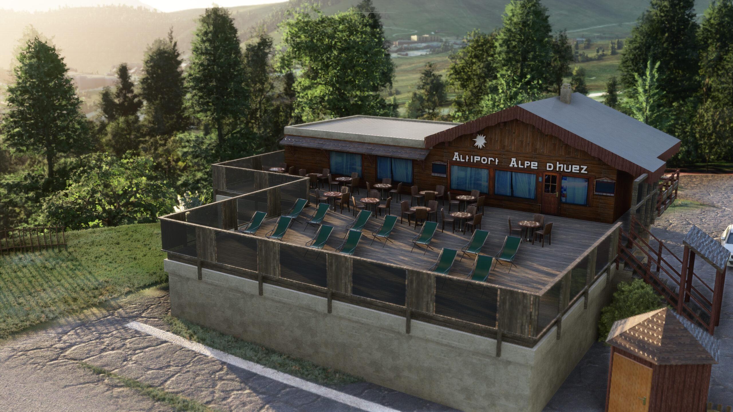 Altiport de l'Alpe d'Huez