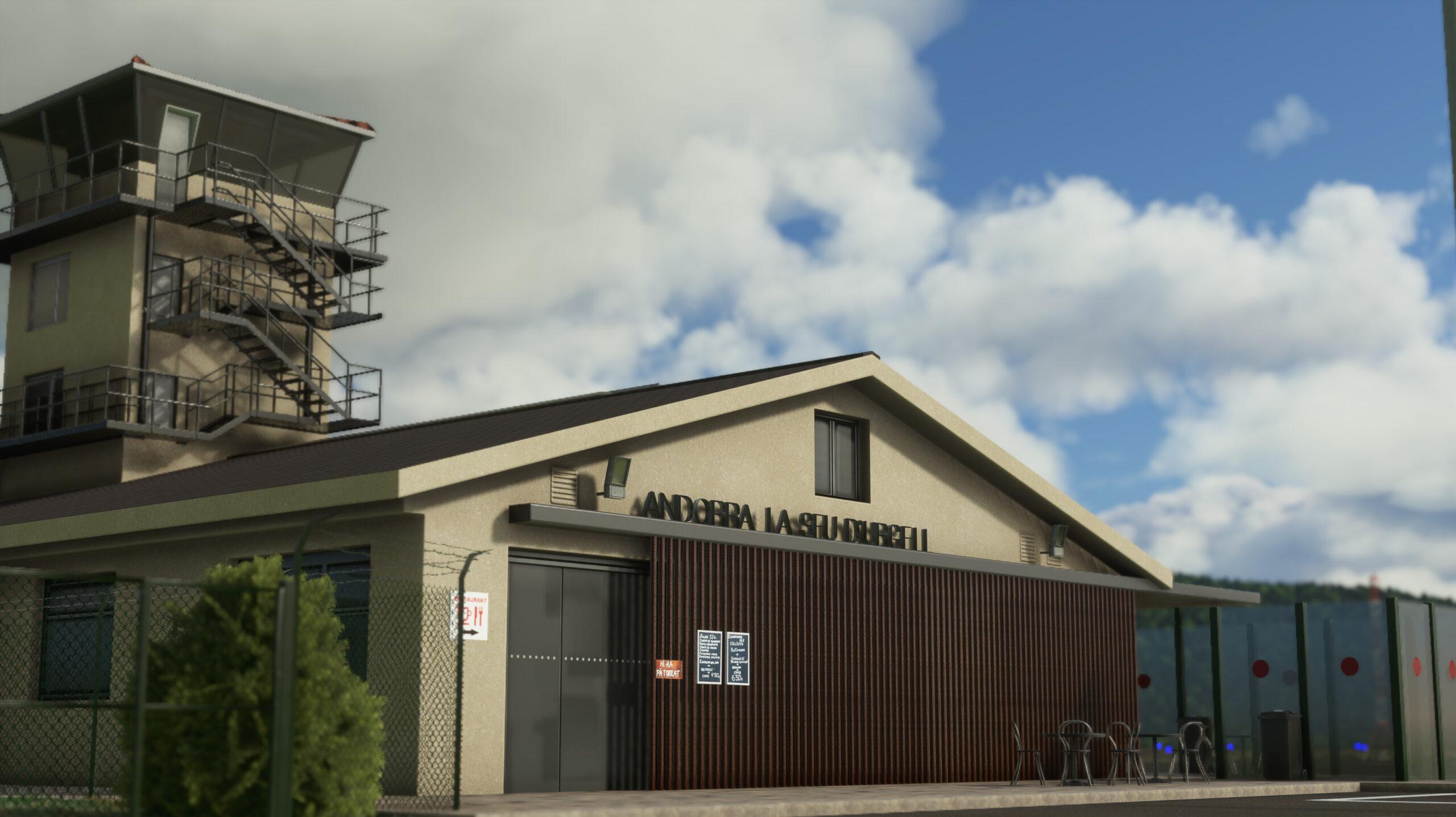 La Seu d'Urgell Airport LESU released on Microsoft Marketplace!